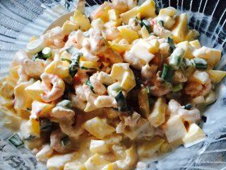 Rejesalat med mango og chili